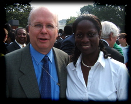Deneen Moore at White House 2006