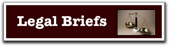 Legal Briefs newsletter