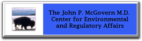 John P McGovern MD Center