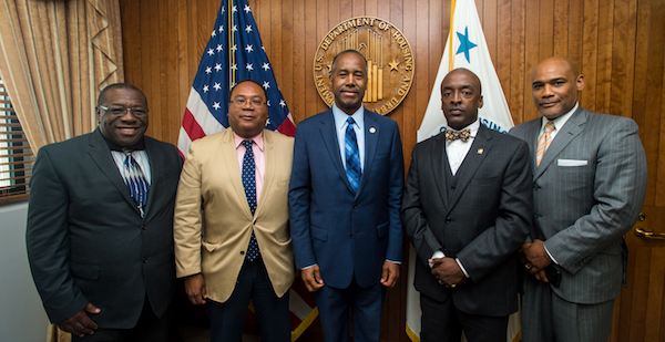 Secretary Ben Carson with Project 21 members
