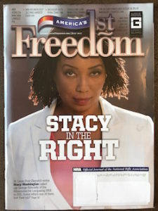 NRA Magazine's July Cover Girl Is Project 21 Co-Chairman Stacy Washington
