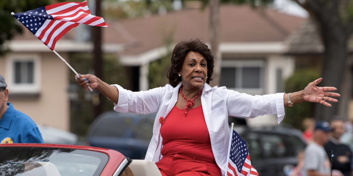 "Maxine Waters ""Trivializes"" Slavery with Immigration Analogy"