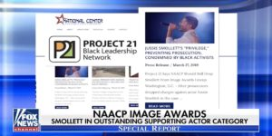 Project 21's Smollett Protest Featured on Fox News Channel