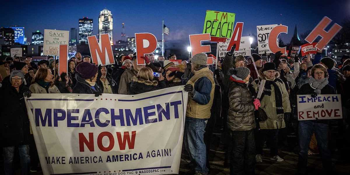 Impeachment's End May Be Proponents' Political Demise