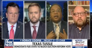 Horace Cooper Finds Liberals Lacking on Communism, Election Integrity