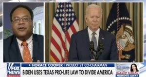 Texas Abortion Law Uproar Reveals Biden's Ignorance of Law and Civics