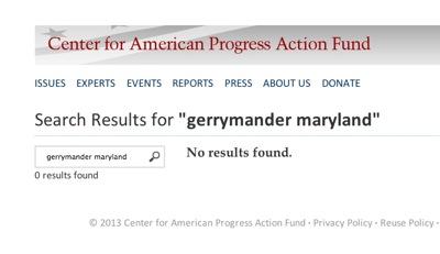 CenterforAmericanProgressGerrymanderMaryland012513