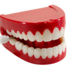 Isolated Chattering Teeth - Clipping Path Included