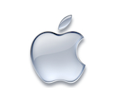 Silver_Apple_Logo_White