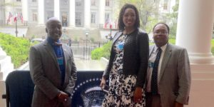 Council Nedd, Stacy Washington and Horace Cooper