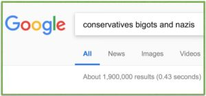 Why Does Google Keep Labeling Conservatives as Bigots and Nazis?