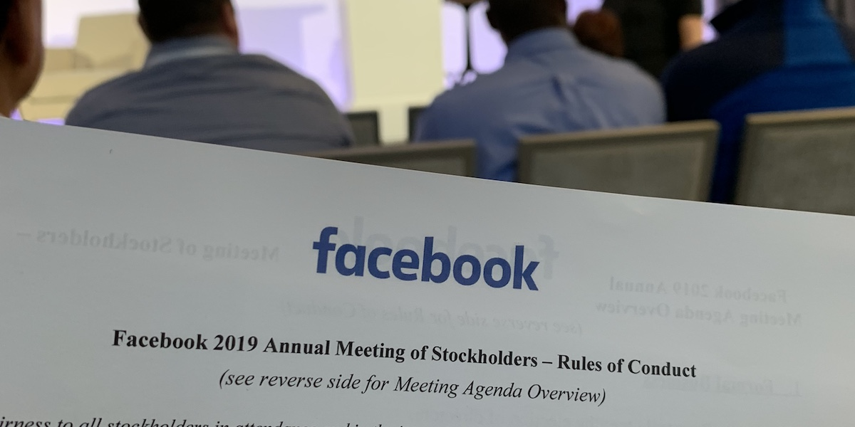 Facebook Asked to Add Conservatives to Its Board of Directors - The