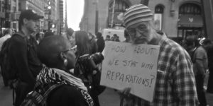 "Reparations Proposal Called a ""Sham"" by Black Activists"