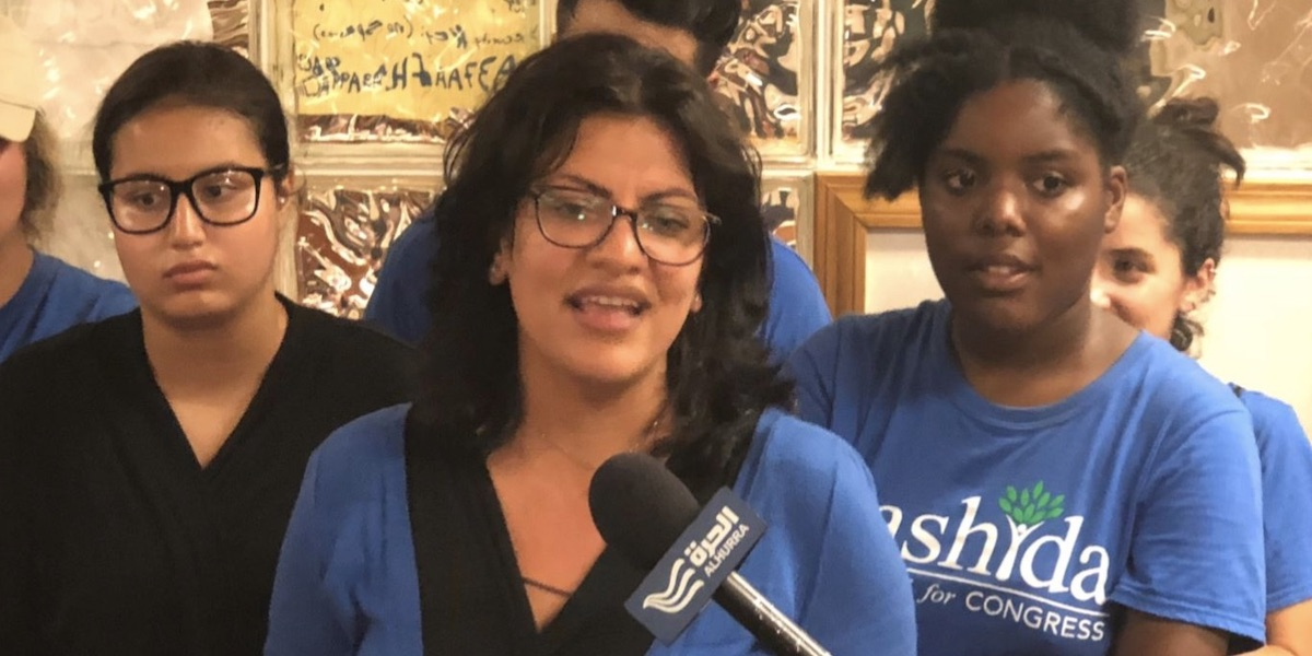 Tlaib Trashes Police, Suggests Strategy to Segregate Security