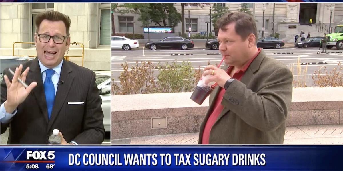 "Proposed D.C. Soda Tax Simply a City ""Cash Grab"""