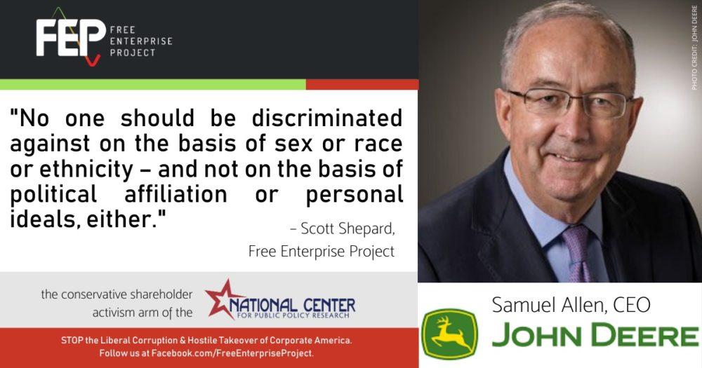 John Deere Samuel Allen Diversity