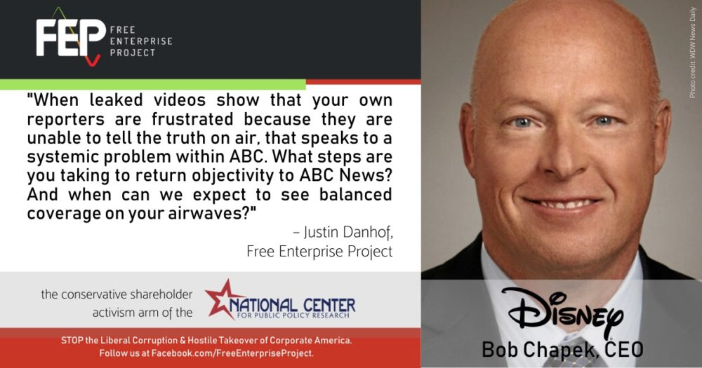 When will Disney address media bias at ABC News?