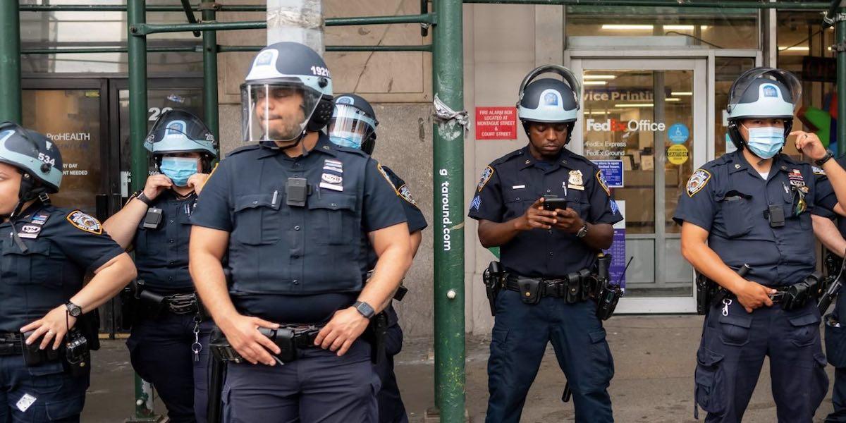 Contrary to Media Narrative, Blacks Back the Badge