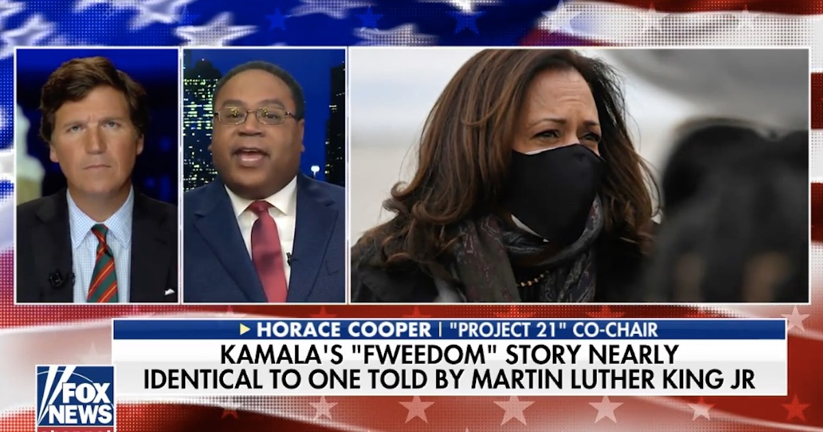 "Left Gives Harris ""Fweedom"" to Trash America"