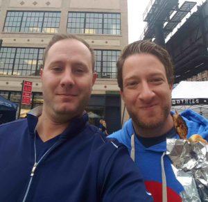 Justin Danhof and David Portnoy